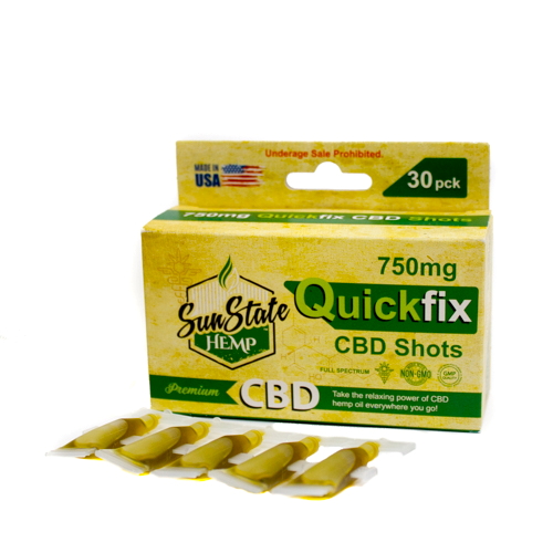 Full Spectrum QuickFix CBD Shots