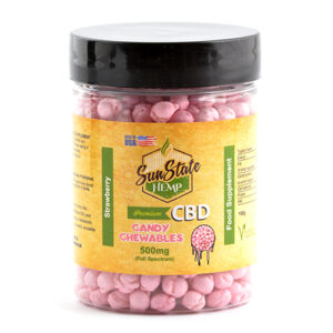 Full Spectrum Candy Chewables mg Strawberry