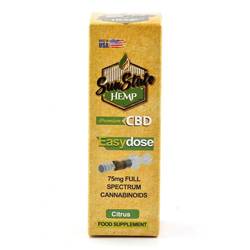 Full Spectrum EasyDose mg ml Syringe Citrus
