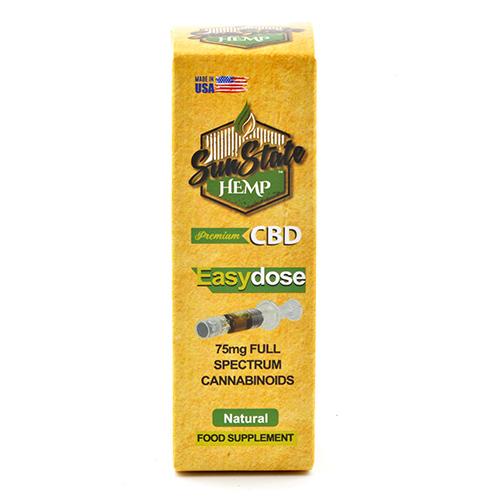 Full Spectrum EasyDose mg ml Syringe Natural