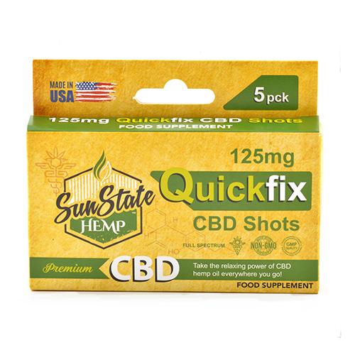 Full Spectrum QuickFix CBD Shots mg