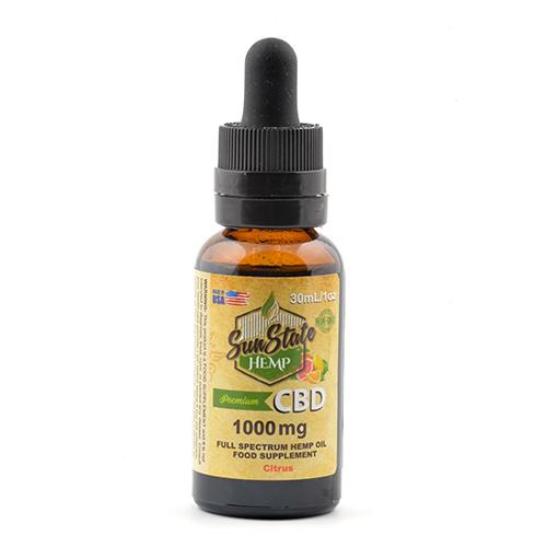 Full Spectrum Tincture mg Citrus