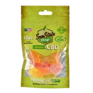 Vegan Gummy mg Organic Bears