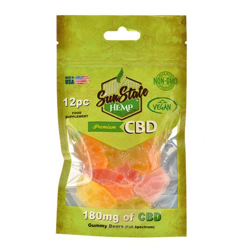 Vegan Gummy mg Organic Bears